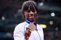 Priscilla Gneto s'est offert le bronze en judo, chez les - 52 kg.