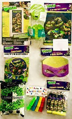 Teenage Mutant Ninja Turtles Favor Packs, Ninja Masks, and Decorations (38 Pieces) Including a Personal Ninja Note, http://www.amazon.com/dp/B00W2HWR8M/ref=cm_sw_r_pi_awdm_CdJBwb1EFS7X5