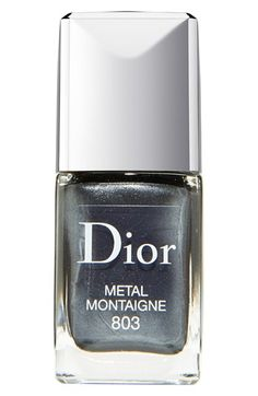 Dior 'Vernis' Gel Shine & Long Wear Nail Lacquer 803 Metal Montaigne