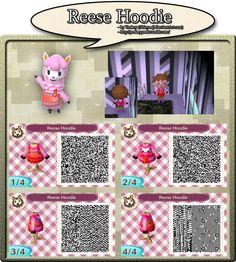 Reese Hoodie - QR Code by Nelaya