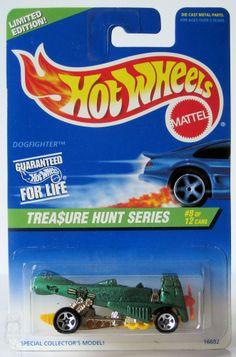 1997 Hot Wheels Treasure Hunt # 585 Dogfighter 8/12