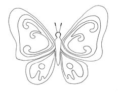 Nice Coloriage De Papillon that you must know, Youre in good company if you?re looking for Coloriage De Papillon Hand Embroidery Patterns, Embroidery Designs, Bird Coloring Pages, Butterfly Drawing, Digi Stamps, Design Reference, Creative Crafts, Tribal Tattoos, Crafts To Make