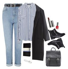 """""""affordable noora sætre inspired outfit"""" by moon-grrrl ❤ liked on Polyvore featuring Miss Selfridge, Belstaff, Zara, Clinique, Moleskine, Topshop, outfit, noora, skam and noorasaetre"""