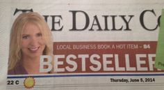 The debut of my new book The LinkedIn Code hits #1 in 12 categories on Amazon in 3 countries (Canada, UK, USA) and makes it to the front page of The Daily Courier. #LinkedIn #LinkedInCode Full article here: http://www.kelownadailycourier.ca/business_news/article_b8f6543e-ec37-11e3-bdb5-001a4bcf6878.html