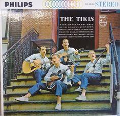 The Tikis, Self Title Album, Debut Album, Vintage Record Album, Vinyl LP, Classic Surf Music, British Beat Pop Group, 1960's Rock Music by VintageCoolRecords on Etsy