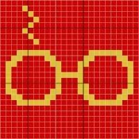 Stitch Fiddle is an online crochet, knitting and cross stitch pattern maker. Cross Stitch Harry Potter, Harry Potter Crochet, Harry Potter Quilt, Harry Potter Diy, Harry Potter Perler Beads, Crochet C2c, Pixel Crochet, Crochet Cross, Tapestry Crochet