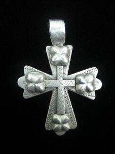 "Ethiopian Coptic Cross Pendant (1.9"" X 1.8"")"