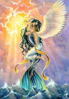 Selina Fenech Angels | Reiki y Tarot: Amuletos de los elementales: Agua: Sirenas
