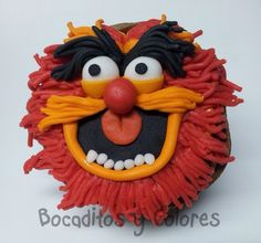 Muppets Cupcake  Plan your next special event at http://www.allaboutpartyplanning.com