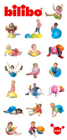 one toy - so many ways to play...  www.bilibo.com #bilibo #openended #awardwinning