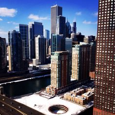 MWM Chicago, Inc. has been in every high rise in downtown Chicago! Can you guess where we were when we took this picture?