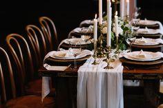 Styling - Him & Her Events Flowers - Little Duck Botanicals  Hire - Lovestruck  Stationery - Love Notes Australia Linen - Covered Linen Photographer - Prue Franzmann