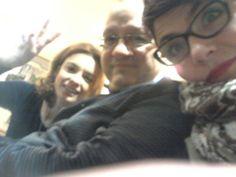 with Cristina Simone  Social Media MAnager e Andrea Romoli Digital expert e Event coordinator, alla #SmWeek14