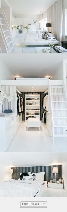 This Little Finnish Apartment Has a Really Clever Closet Solution | Apartment Therapy - created via http://pinthemall.net