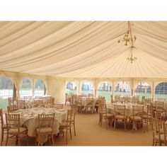 Marquee Wedding - Dorking, Surrey. Bringing the garden and light into the marquee. i love this look