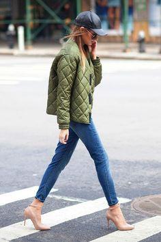 Стеганые куртки для осени 2016: фото стильных осенних стеганых курток, с чем их носить
