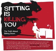 Sitting Is Killing You - http://www.medicalbillingandcoding.org/sitting-kills/
