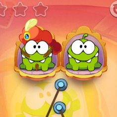Feeding two Om Nom's can be challenging and sometimes you just wish that you could freeze time! Fortunately, in Cut the Rope: Time Travel, you can! Use the freeze button to hold Om Nom's candy in place while you position yourself for victory! * iPhone or iPod touch: http://itunes.apple.com/app/id608899141 * iPad:  http://itunes.apple.com/app/id608901634 * Google Play: http://play.google.com/store/apps/details?id=com.zeptolab.timetravel.paid.google #cuttherope #time #travel #omnom #cute…