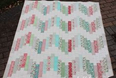 Tutorial: Ridiculously Easy Jelly Roll Quilt