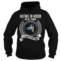 Awesome Tee Hastings-on-Hudson, New York - Its Where My Story Begins Shirts & Tees