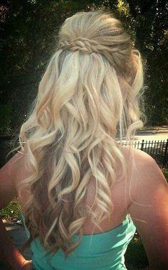Braids and curls.
