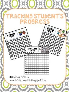 Tracking Student's Progress/ Data Folder !!!
