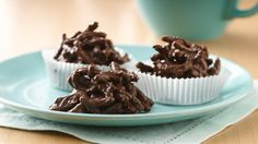 Stir up a batch of these easy no-bake treats with Fiber One™ bran cereal.