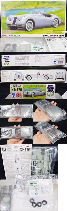 Other Automotive Models and Kits 1190: Aoshima Jaguar Xk120 1 24 Scale Rare Euro Sports Car Plastic Model Kit Japan -> BUY IT NOW ONLY: $99 on eBay!