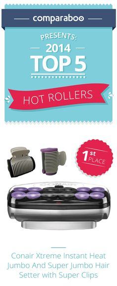 Hot rollers, also known as hairsetters, create a much quicker curl than regular curlers and those curls are longer lasting & healthier than those created by a curling iron. There are a variety of brands offering a variety of types, and deciding between them can be difficult. To help you find the right hot roller for you (and your hair), we have put together this hot roller shopping guide for you to have beautiful bouncy curls in no time. #beauty http://www.comparaboo.com/hot-rollers