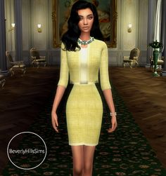 Spring Chanel SuitComes in 6 colorsOnly Spring Colors, I will release more colors in the future…DOWNLOADTOU ( This item I am not allowing recolors for, unfortunately)I hope you love it, tag me #beverlyhillssims, i would to see!