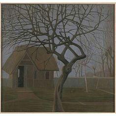 Calderara AntonioL'albero morto1930, olio su tela, 49 x 51 cm