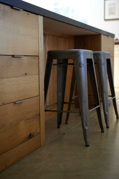 Belgian Modern Inspired | Cultivate concrete and reclaimed wood