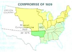 What was the Missouri Compromise? In an effort to preserve the balance of power in Congress between slave and free states, the Missouri Compromise was passed in thus, admitting Missouri as a slave state and Maine as a free state -Gabriela High School American History, Missouri Compromise, Think Sheet, Oregon Country, Supreme Court Cases, Free State, Challenge Me, Preserve, Social Studies