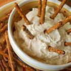Beer Dip - delicious for game days...you can use low fat cream cheese to cut some calories.  This is my go-to.