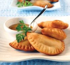 Empanadas~I may have to part with tradition and try a new dough recipe 'cuz these look great!
