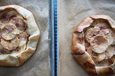 Sunday Suppers Spring Dinner   Local Apple Galette with Goat's Milk Ice cream