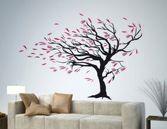Wall Decoration Painting 30 Beautiful Wall Art Ideas And Diy Wall Paintings For Your Best Style Simple Wall Paintings, Creative Wall Painting, Room Wall Painting, Creative Walls, Diy Wall Art, Diy Wall Decor, Canvas Wall Art, Painting Art, Tree Paintings