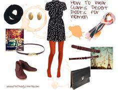 How To Wear Clarks Desert Boots for Women