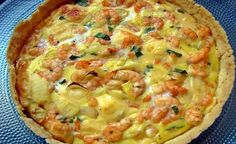 50 Ideas Seafood Pizza Recipes Simple For 2019 Quiches, Quiche Recipes, Pizza Recipes, Cooking Recipes, My Favorite Food, Favorite Recipes, Fried Chicken Recipes, Portuguese Recipes, Fabulous Foods