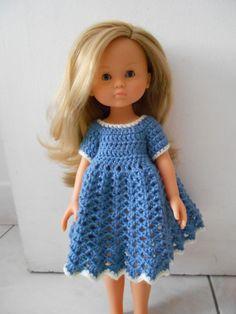 Une robe pour Camille - Les 10 doigts de Sccip - Patron de Passion Poupées