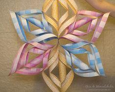 Estrella de papel para decorar