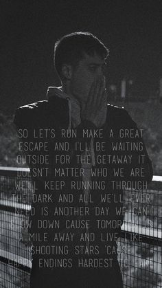 Favourite Singer EDEN, Lyrics from his song End Credits <3