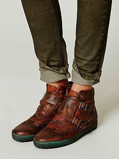 Coleman Distress Sneaker $225