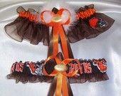 I absolutely LOVED my Cleveland Browns garter set!