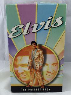 Vintage Elvis Presley THE PRESLEY PACK 4 VHS Movies Collectible