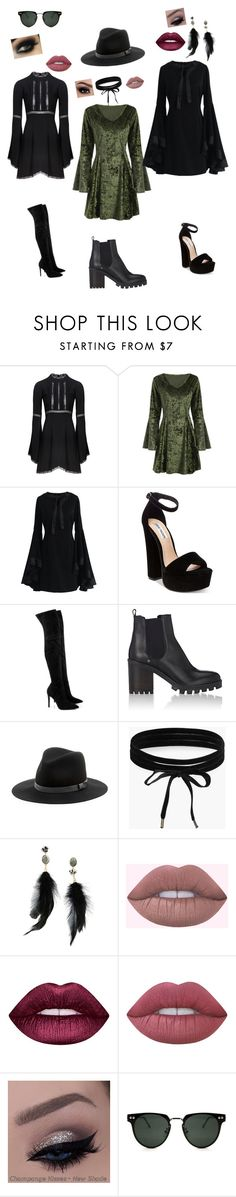 """""""#WhitchBitch"""" by flowersinourhearts on Polyvore featuring For Love & Lemons, Chicwish, Steve Madden, Kendall + Kylie, Barneys New York, Sole Society, Boohoo, Betsey Johnson, Lime Crime and Spitfire"""