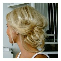 Show me your hair inspiration :) « Weddingbee Boards found on Polyvore