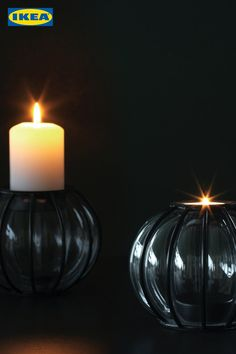 Wenn es draußen wieder früher dunkel wird, hol dir die neue HÖSTPROMENAD Kollektion gegen den Herbstblues. 🍂 Tea Lights, Candle Holders, Candles, Tips, Home Deco, Darkness, Advice, Tea Light Candles, Porta Velas