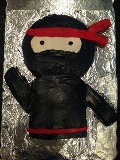 Chase's ninja cake!!! 2013 More