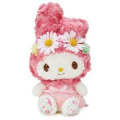HOT WATER BOTTLE GENUINE JAPAN SANRIO MY MELODY CUTE 3D PLUSH DOLL COVER